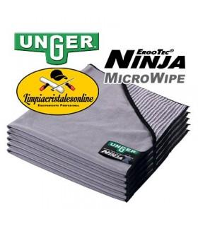 Bayeta Limpiacristales Microfibra Unger Ninja