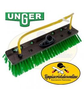 Cepillo de Doble Ángulo para Limpieza con Pértiga y Agua Pura Unger