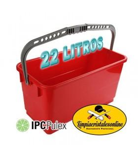 Cubo Limpiacristales Pulex 22 Litros