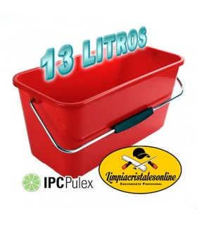 Cubo Limpiacristales Pulex 13 Litros