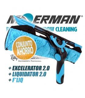 Moerman EXCELERATOR 2.0 + LIQUIDATOR 2.0 + F*LIQ